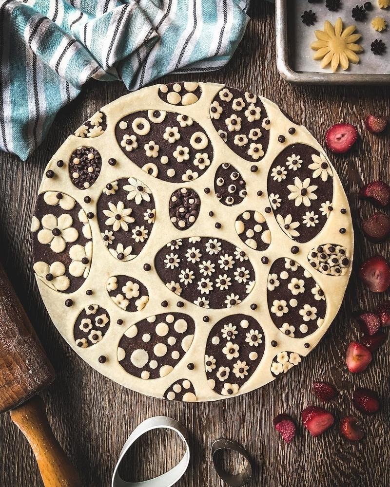Самоучка печет пироги невероятной красоты: кулинарные шедевры от Helen Nugent + 3 секрета идеальной выпечки, фото № 40