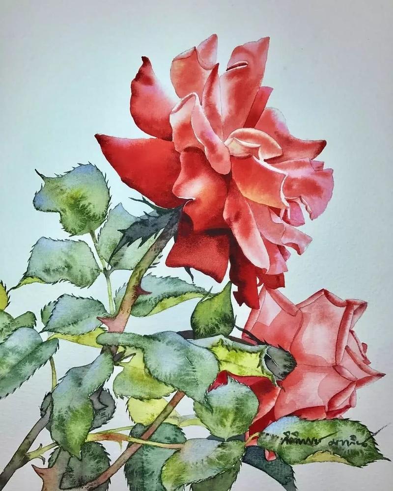 Watercolour Virtuoso: Kitipong Ti, фото № 2
