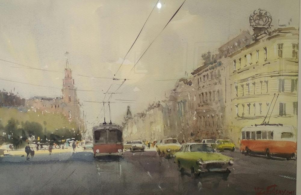 Международная выставка акварели в Москве, фото № 11