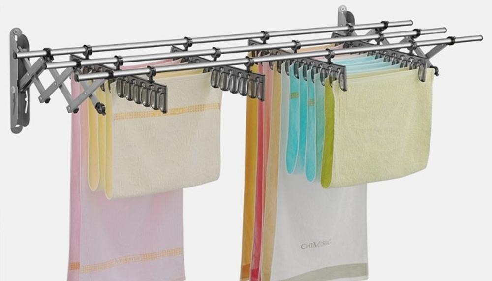 Где сушить белье в квартире красиво и удобно? (33 обычных и необычных решений), фото № 14