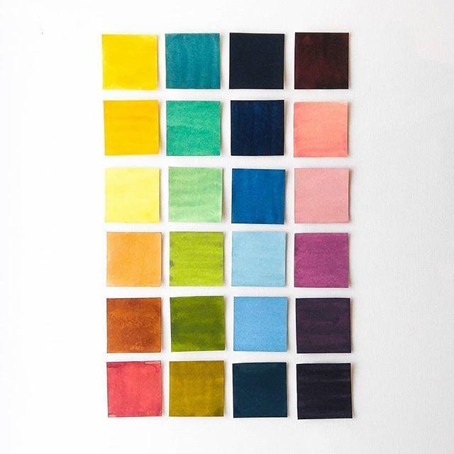 цветовая гамма, цветовая палитра, палитра, палитра цветов, цвета, акриловые чернила, акриловые краски, акрил