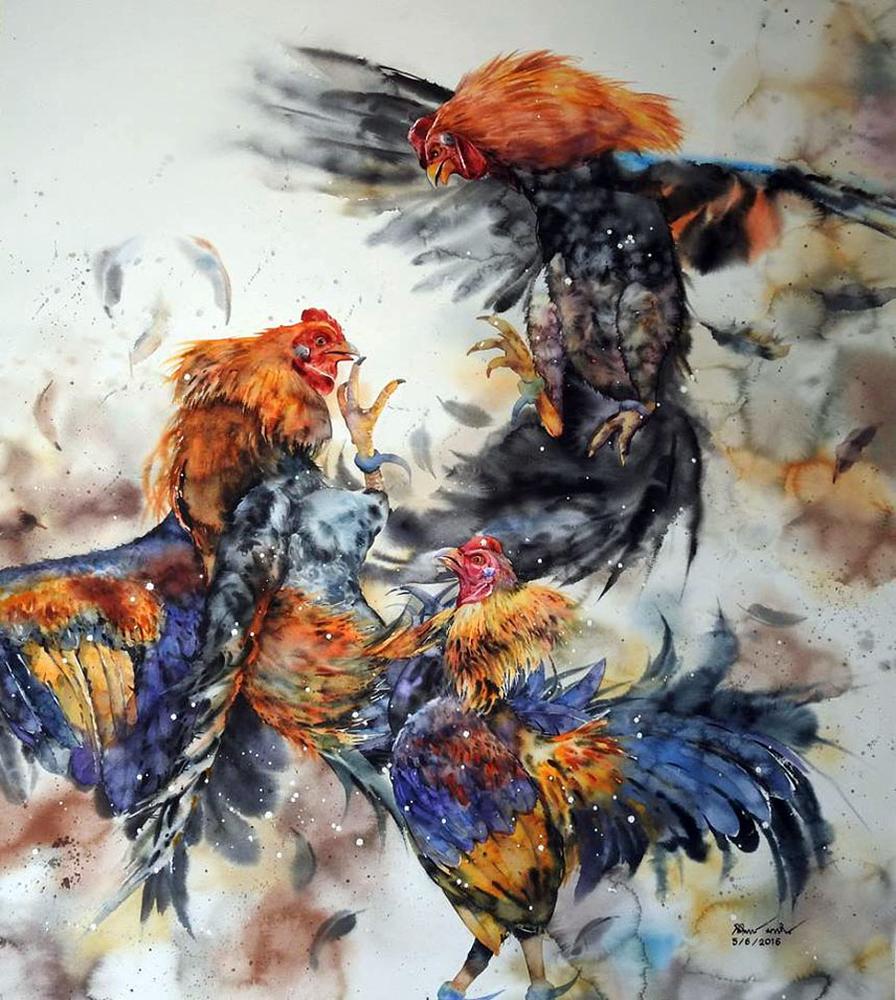 Watercolour Virtuoso: Kitipong Ti, фото № 35