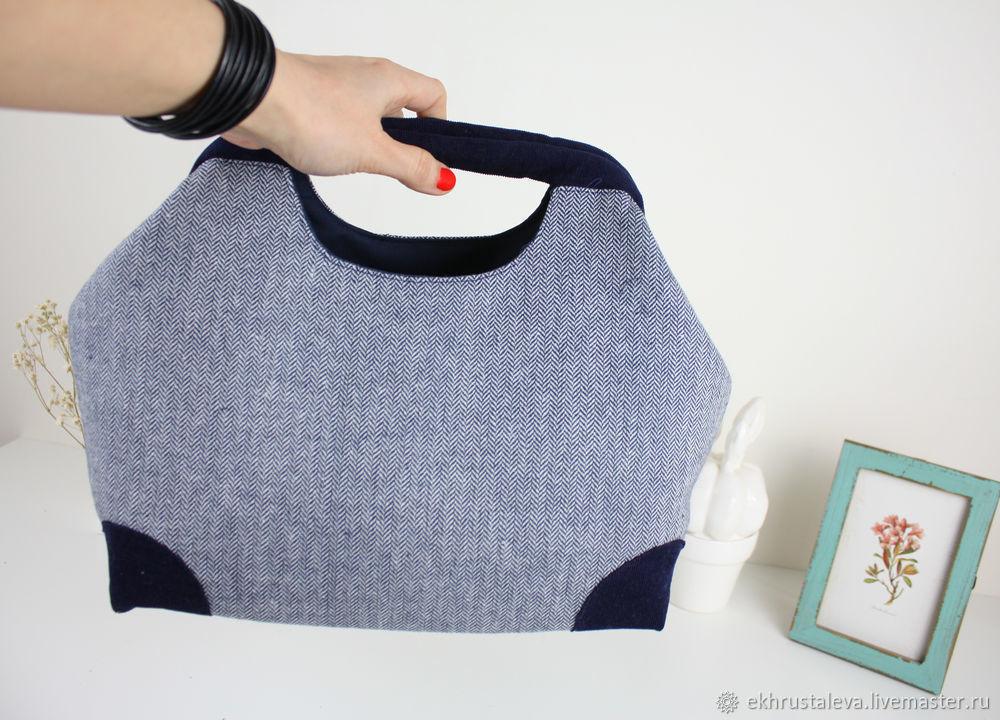 Шьем сумку с внутренним каркасом, фото № 4