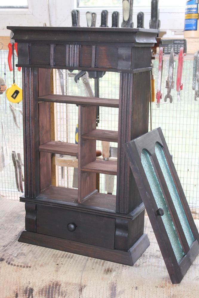Реставрация старого шкафчика, фото № 11