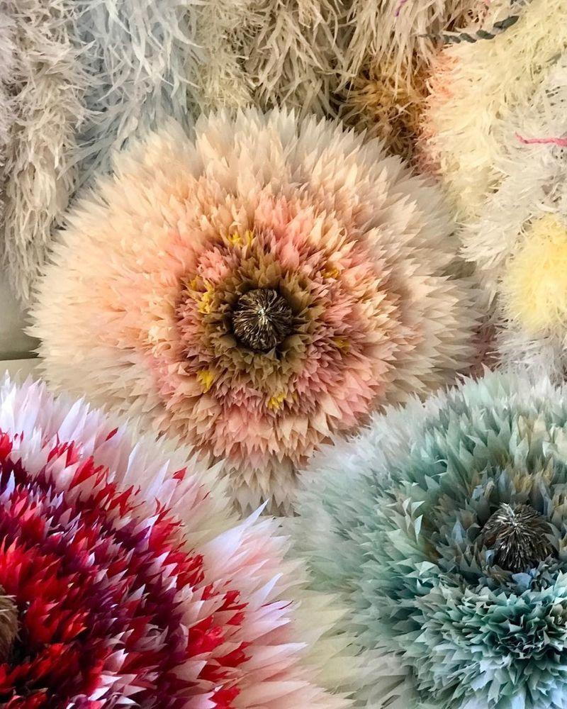 Потрясающие бумажные цветы датской художницы arianne riksen-cott ansen, фото № 11