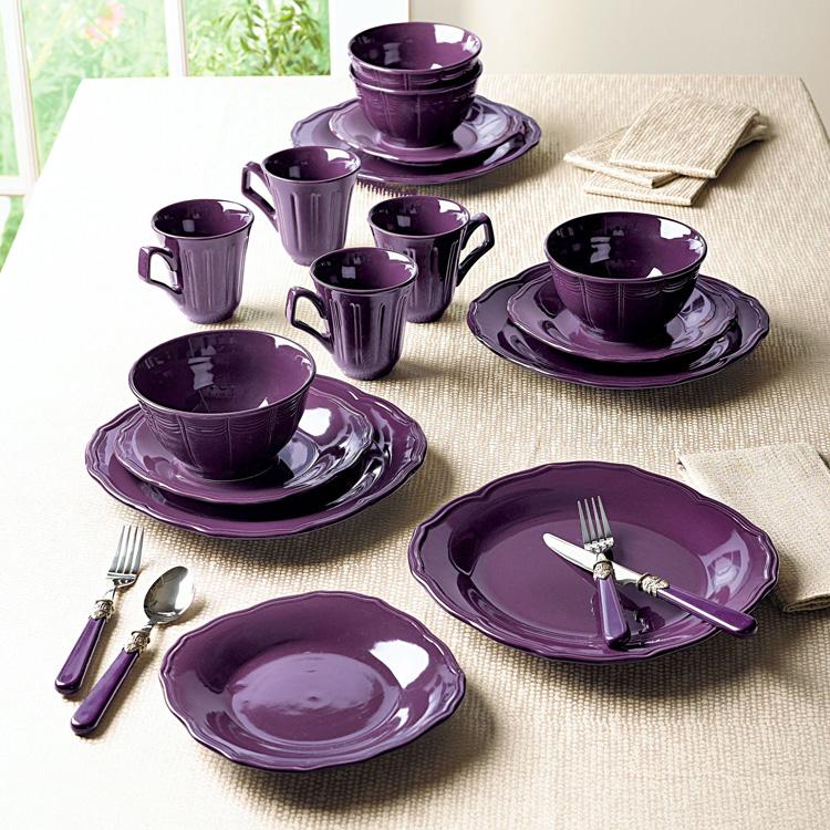 видно красивая посуда для кухни фото интерьера