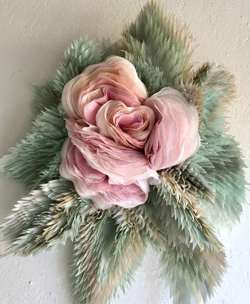 Потрясающие бумажные цветы датской художницы arianne riksen-cott ansen, фото № 43