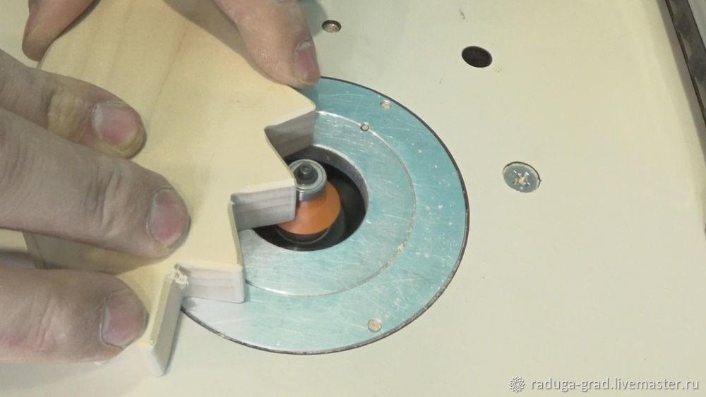 Качественный край на деревянной игрушке и способ фрезеровки мелких деталей, фото № 7
