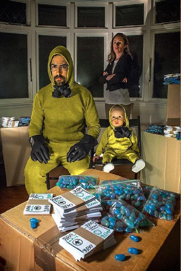 Что будет, если творческим людям дать много картонных коробок Лион Мэки и Лилли Лэнг — творческая семья киноманов, фото № 27