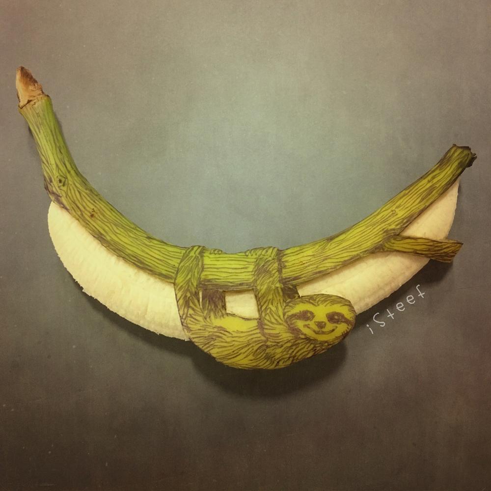 Повелитель бананов Стивен Брюче меняет наше привычное представление об этом фрукте в своём творчестве!, фото № 23