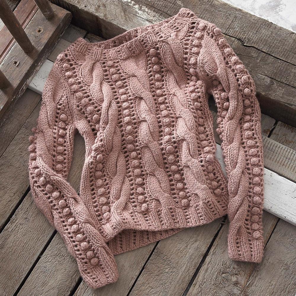 К зиме готовы! 50 идей вещей для вязания спицами, фото № 23