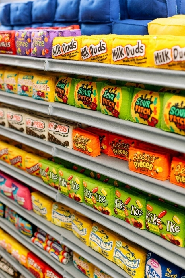 Lucy Sparrow's Supermarket: Felt Products & No GM Foods, фото № 2