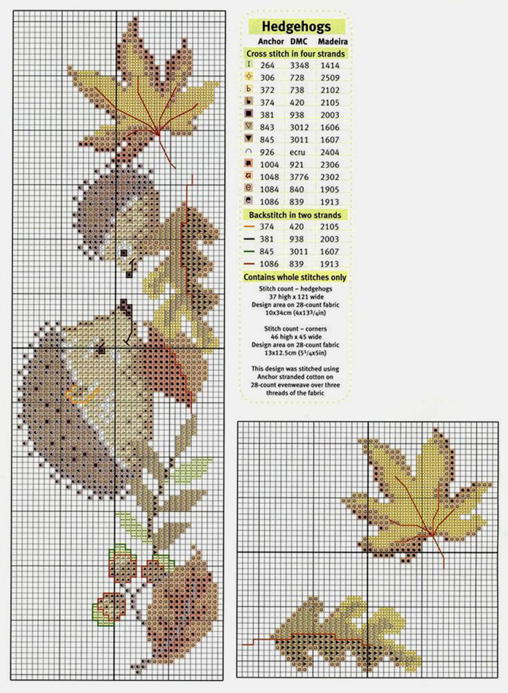 In Love With Autumn: 50+ Cross Stitch Patterns, фото № 13