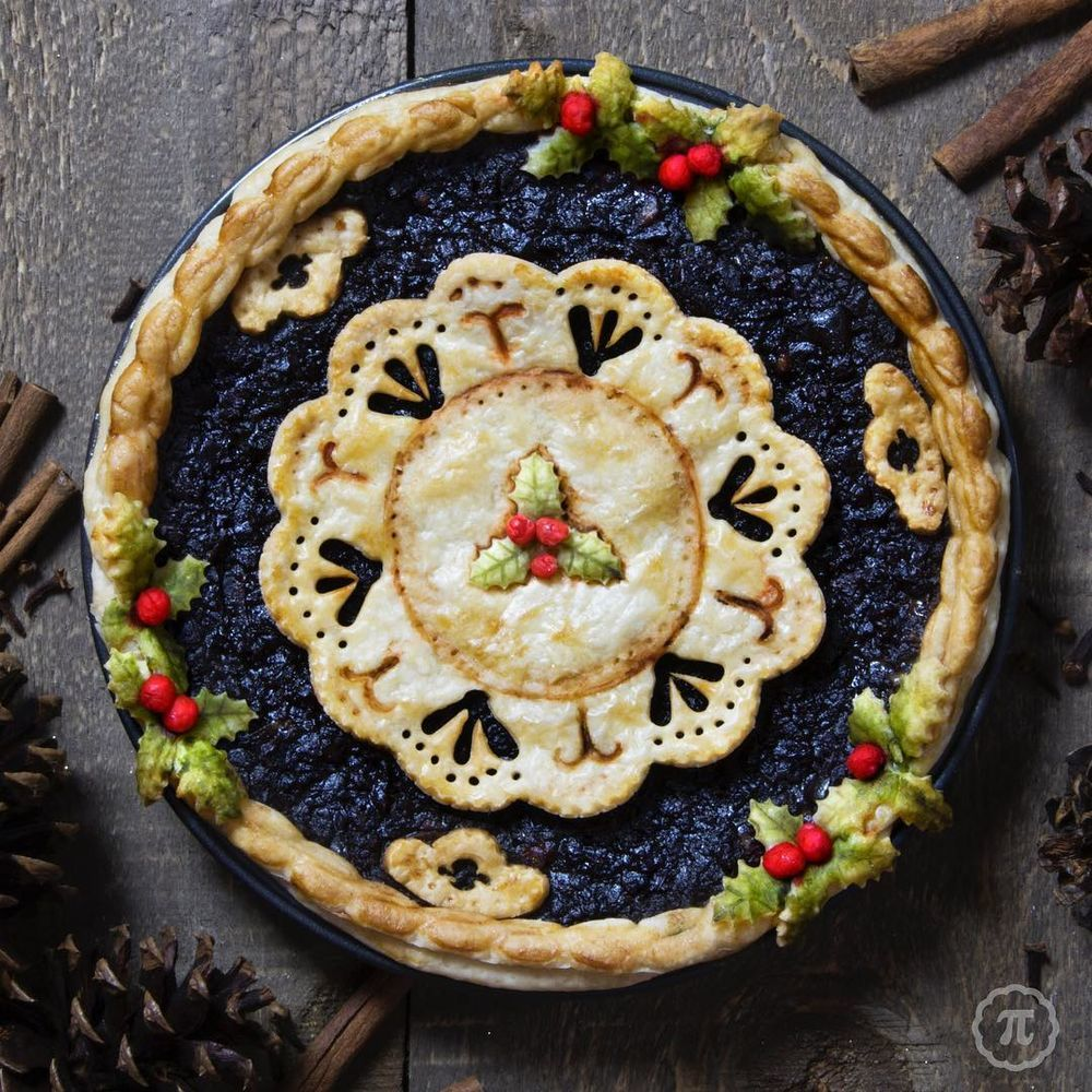 Self-Taught Cook Named Jessica Bakes Christmas Pies — And They Are Gorgeous!, фото № 7