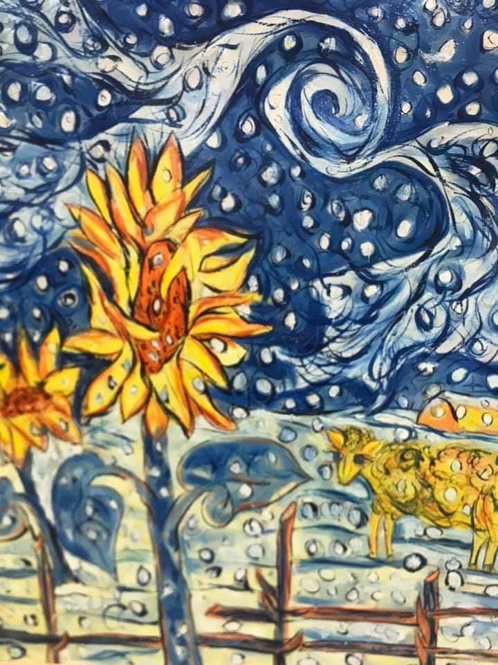 Самобытный художник Александр Носов, и его удивительные картины, фото № 9