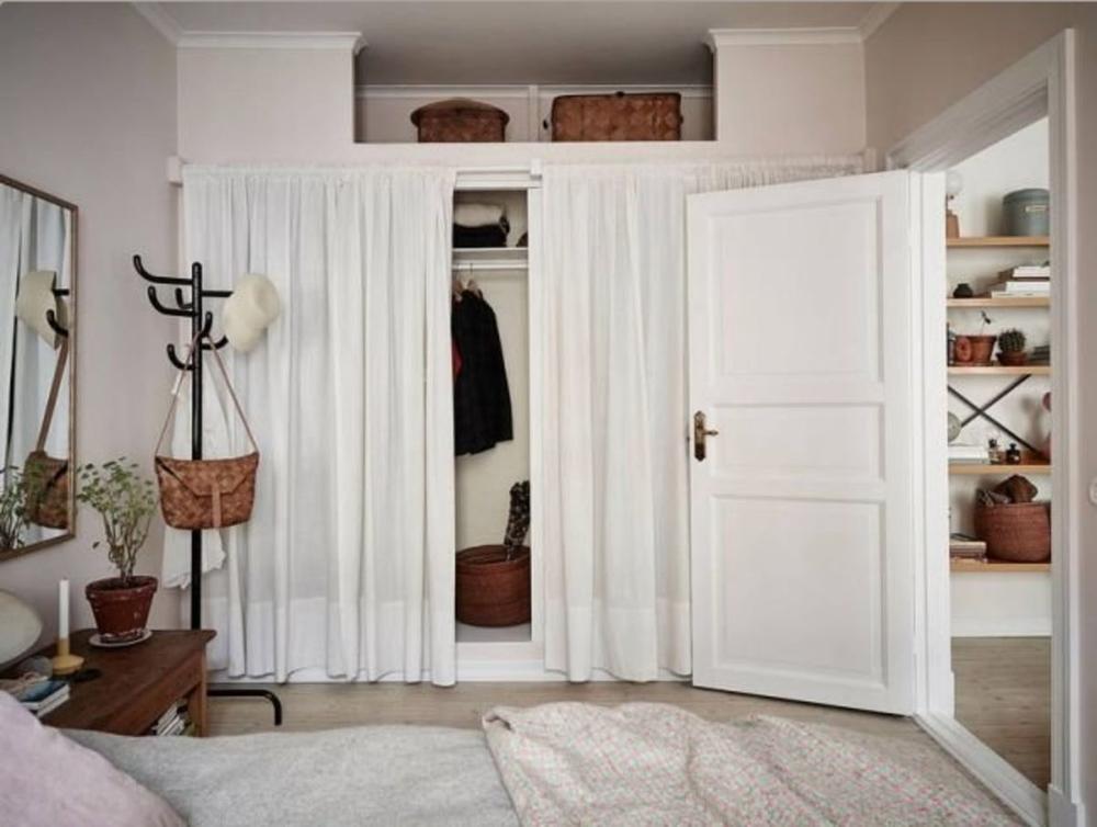 Шторки вместо двери: все за и против, фото № 1