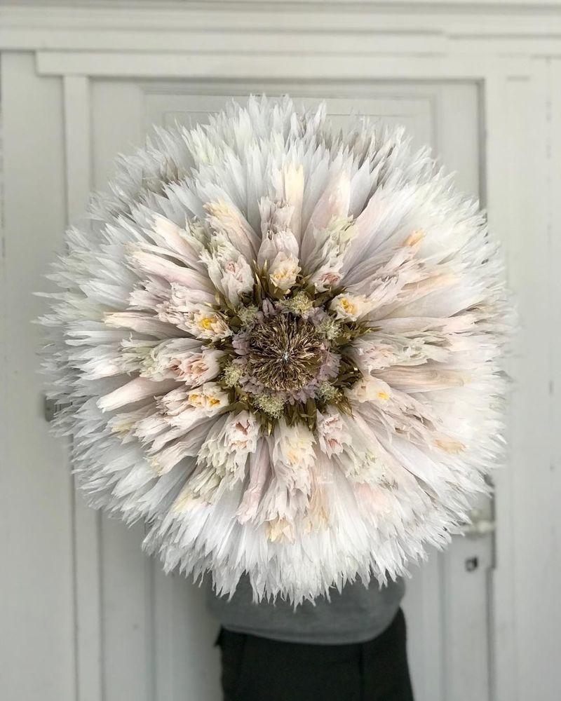 Потрясающие бумажные цветы датской художницы arianne riksen-cott ansen, фото № 12