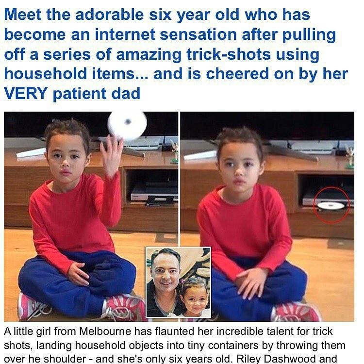Эмма Стоун в платье из вафель и Рианна с кастрюлей на голове: 9-летняя звезда интернета удачно пародирует образы знаменитостей в домашних условиях, фото № 21