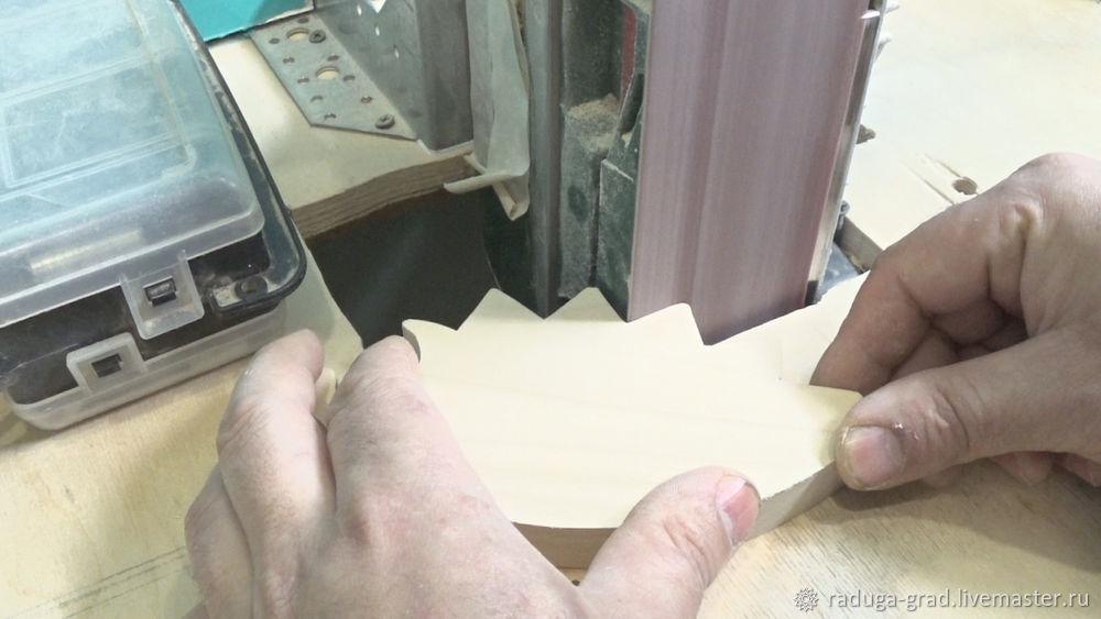 Качественный край на деревянной игрушке и способ фрезеровки мелких деталей, фото № 4