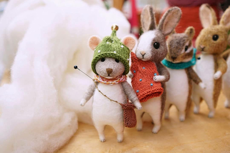 Mouse Stories: Adorable Felted Toys By Little Wool Tails, фото № 23