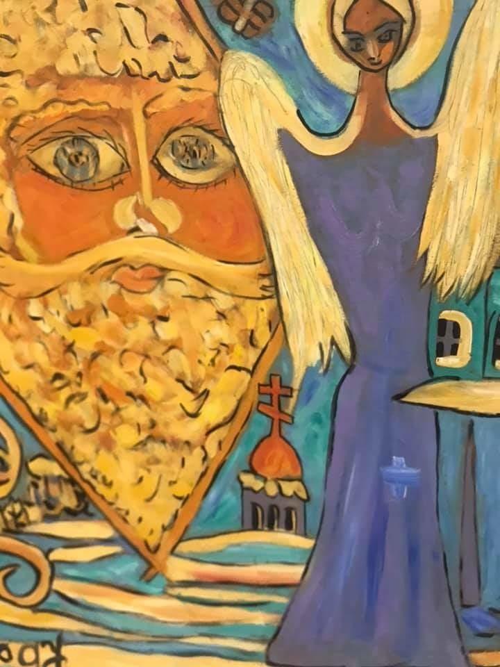 Самобытный художник Александр Носов, и его удивительные картины, фото № 3