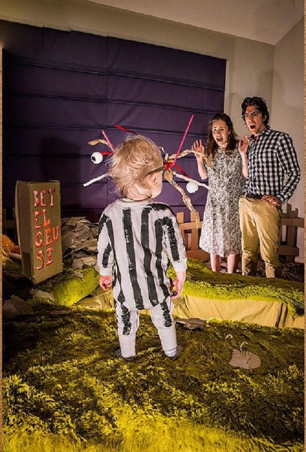 Что будет, если творческим людям дать много картонных коробок Лион Мэки и Лилли Лэнг — творческая семья киноманов, фото № 22
