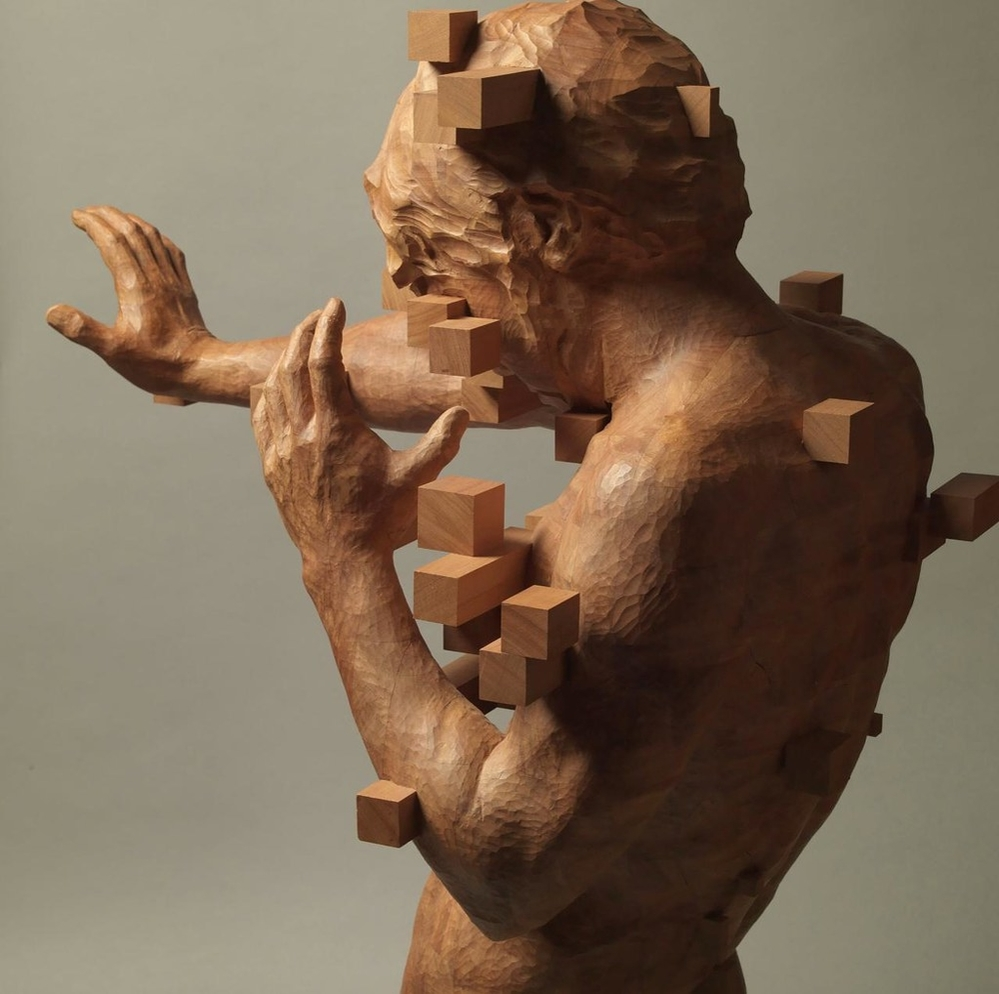 Striking Wooden Sculptures By Hsu Tung Han, фото № 17