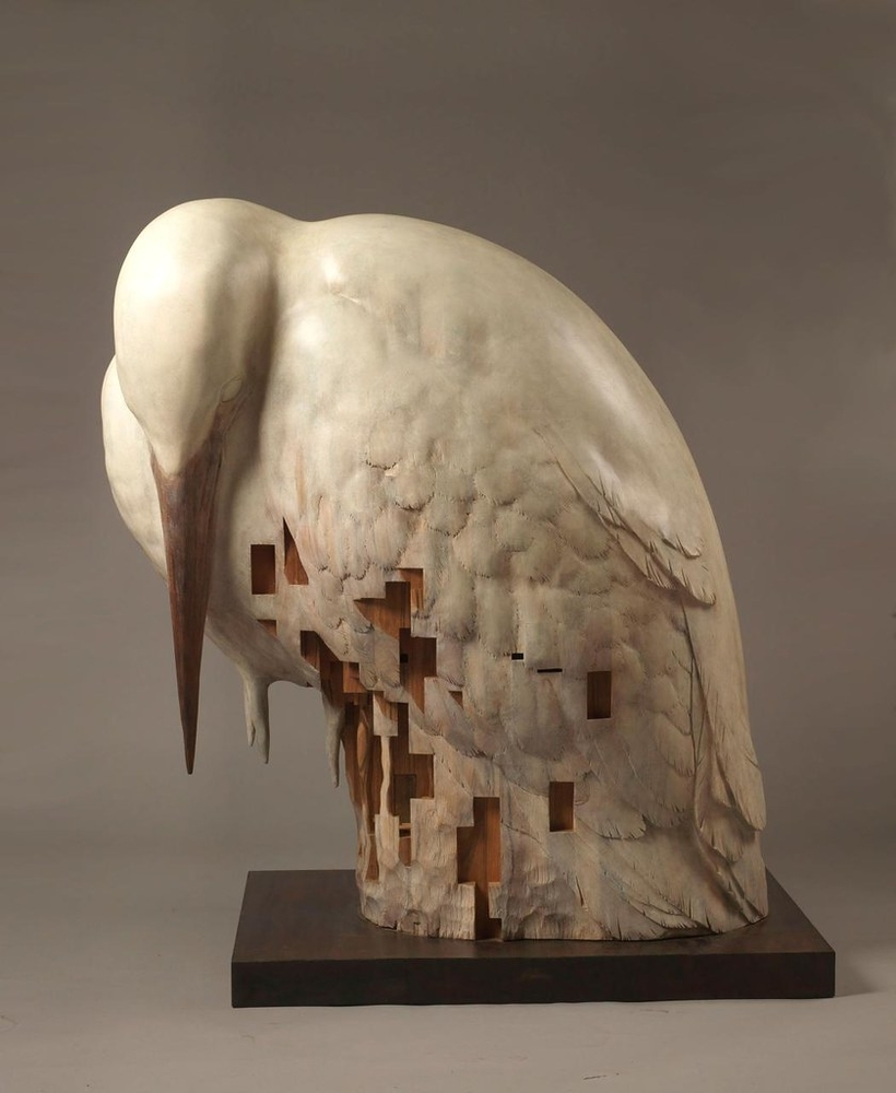 Striking Wooden Sculptures By Hsu Tung Han, фото № 26