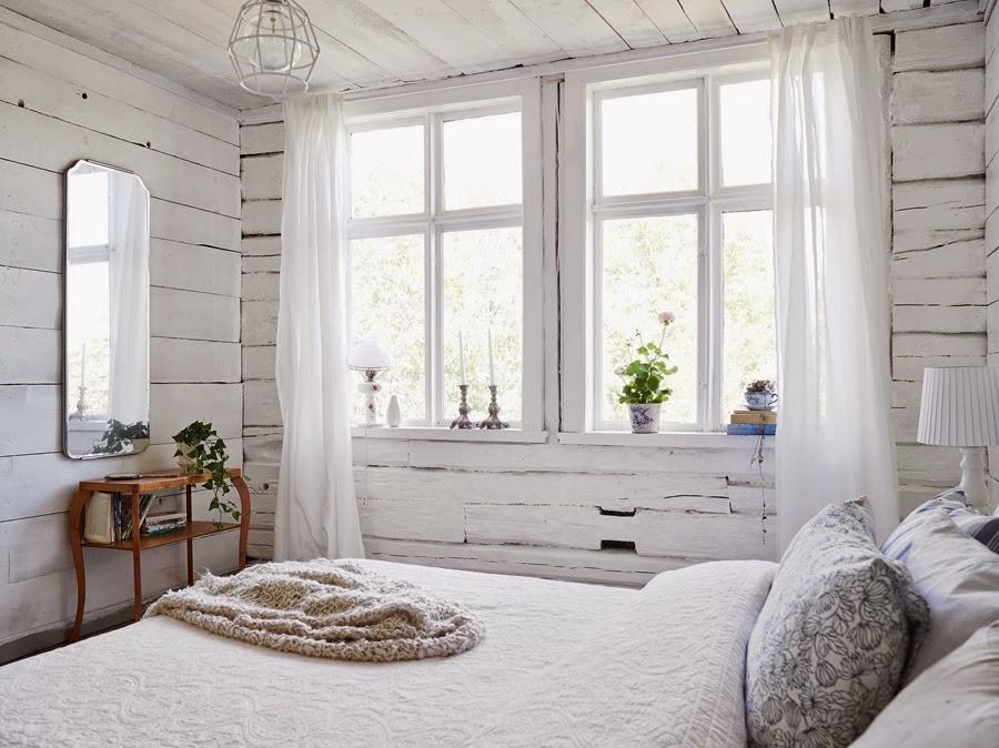 Белый цвет в дачном интерьере, фото № 2
