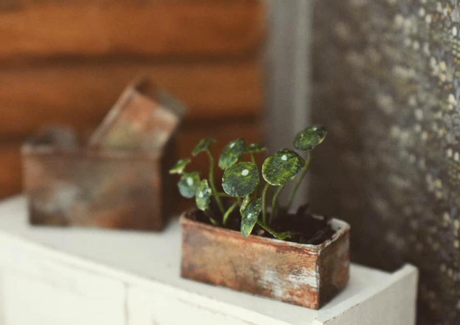 Финская художница создает дома мечты... в миниатюре, фото № 34