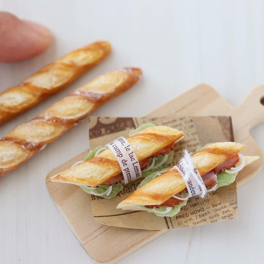 Почти съедобное несъедобное: реалистичные кулинарные миниатюры Mayu Sekiguchi