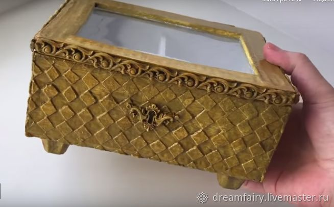 Мастерим шкатулку из картона своими руками, фото № 1