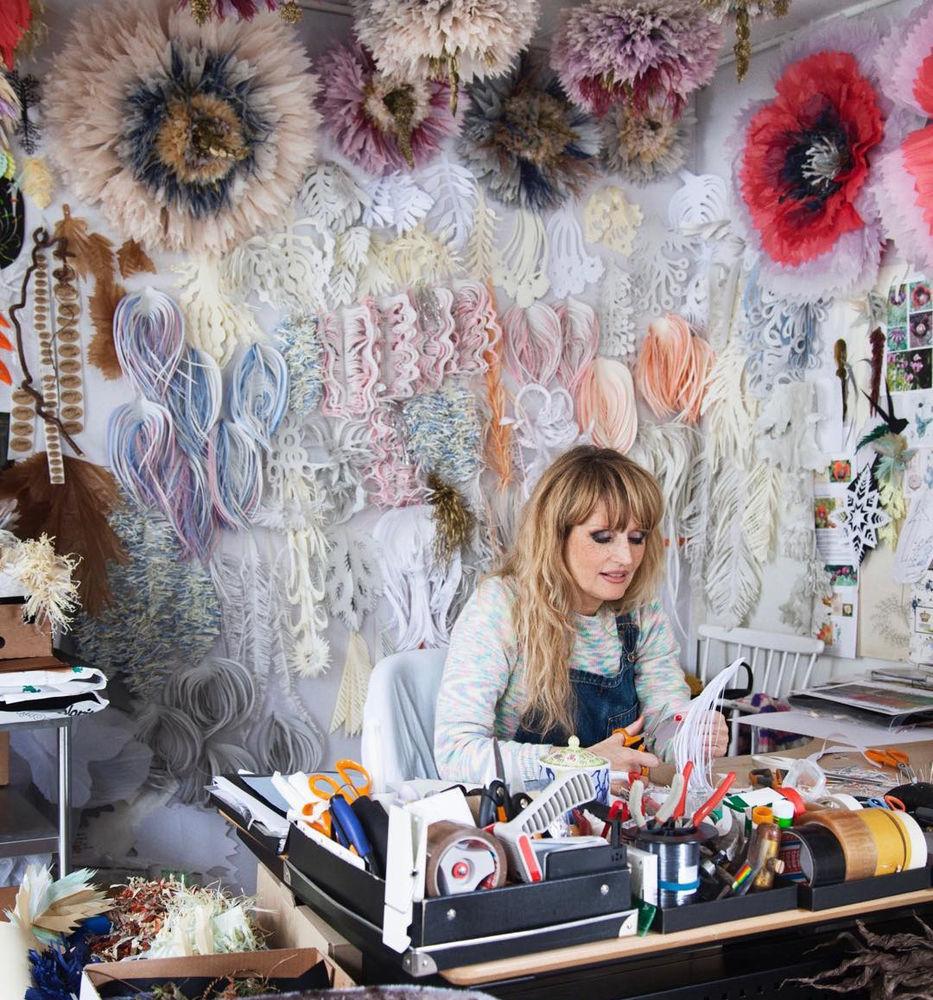 Потрясающие бумажные цветы датской художницы arianne riksen-cott ansen, фото № 2