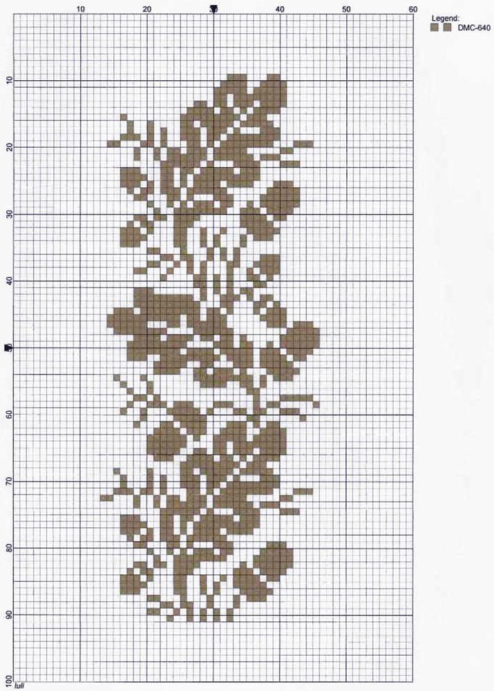 Влюбленные в осень: 50+ схем для вышивки крестиком, фото № 18