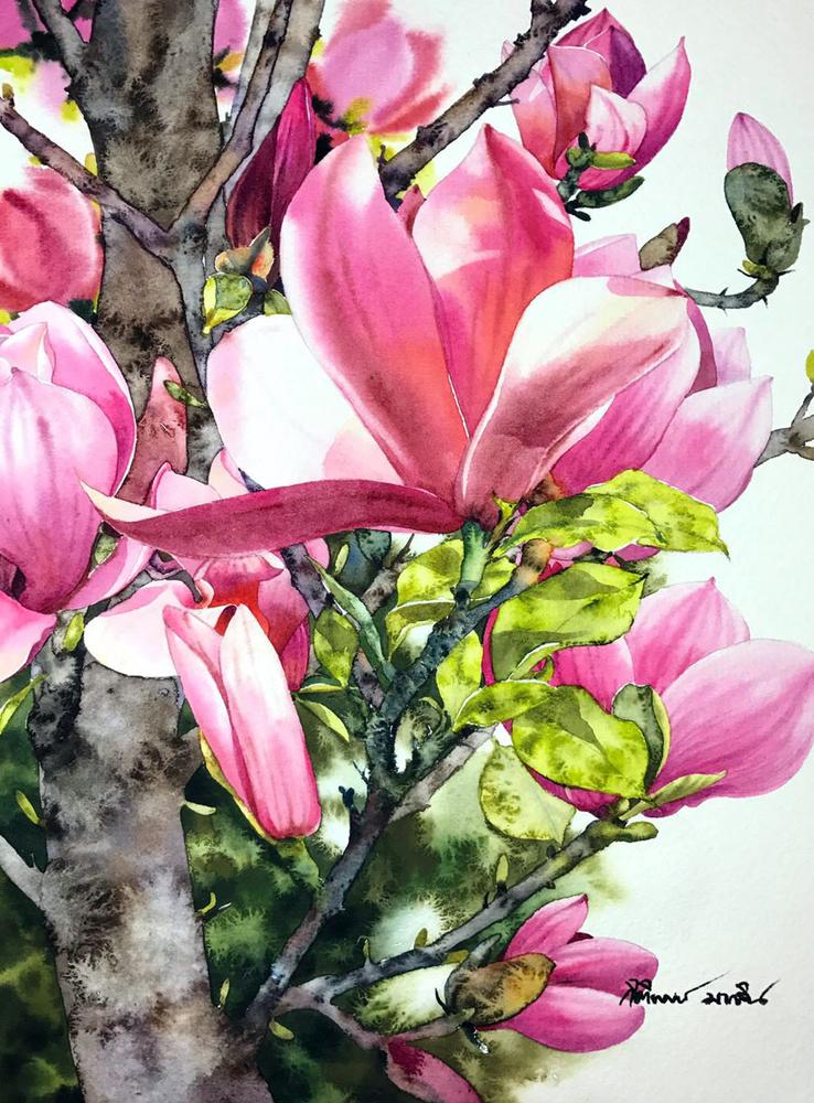 Watercolour Virtuoso: Kitipong Ti, фото № 4