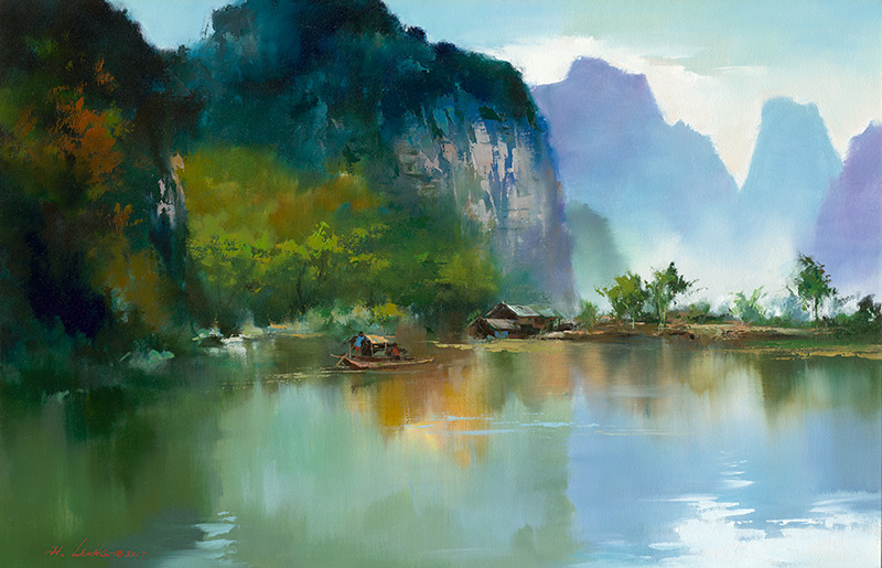 Кен Хонг Лунг — мастер волшебных пейзажей, фото № 12