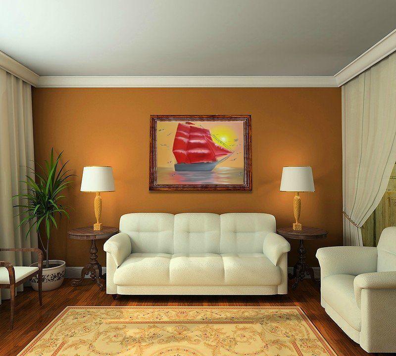 расположение картин в доме