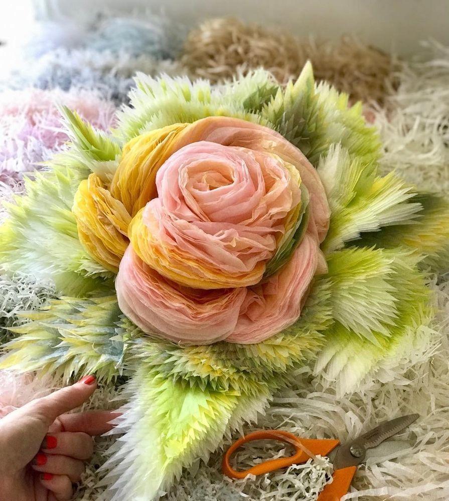 Потрясающие бумажные цветы датской художницы arianne riksen-cott ansen, фото № 4