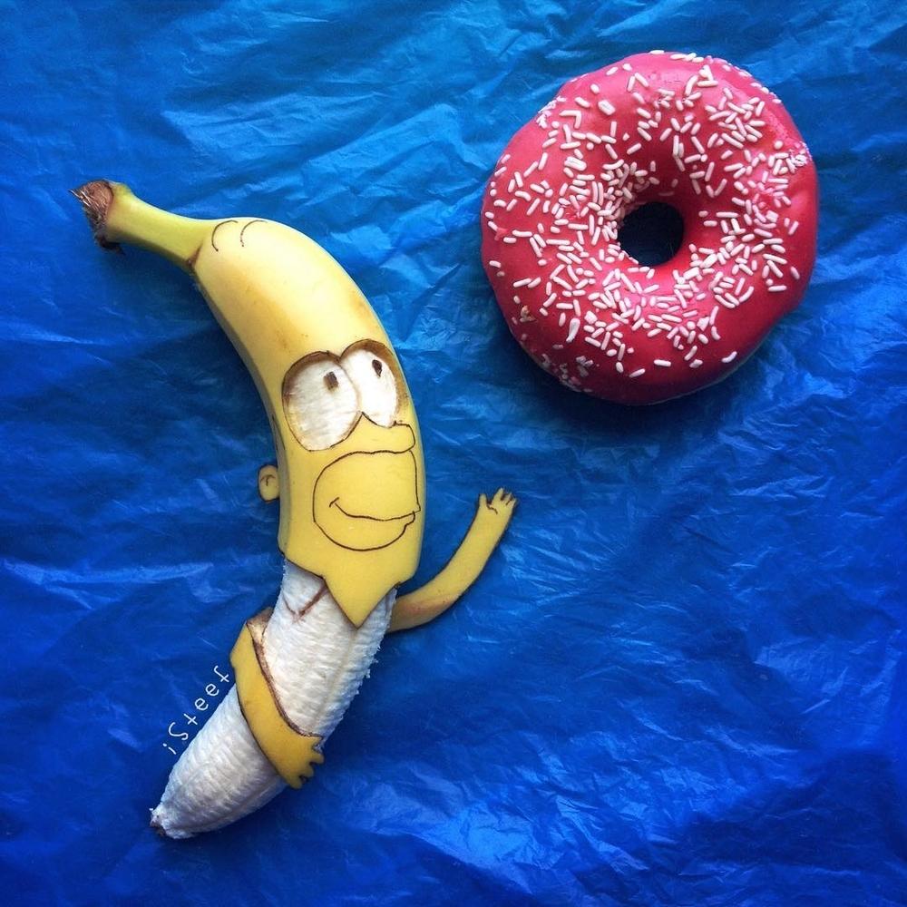Повелитель бананов Стивен Брюче меняет наше привычное представление об этом фрукте в своём творчестве!, фото № 4