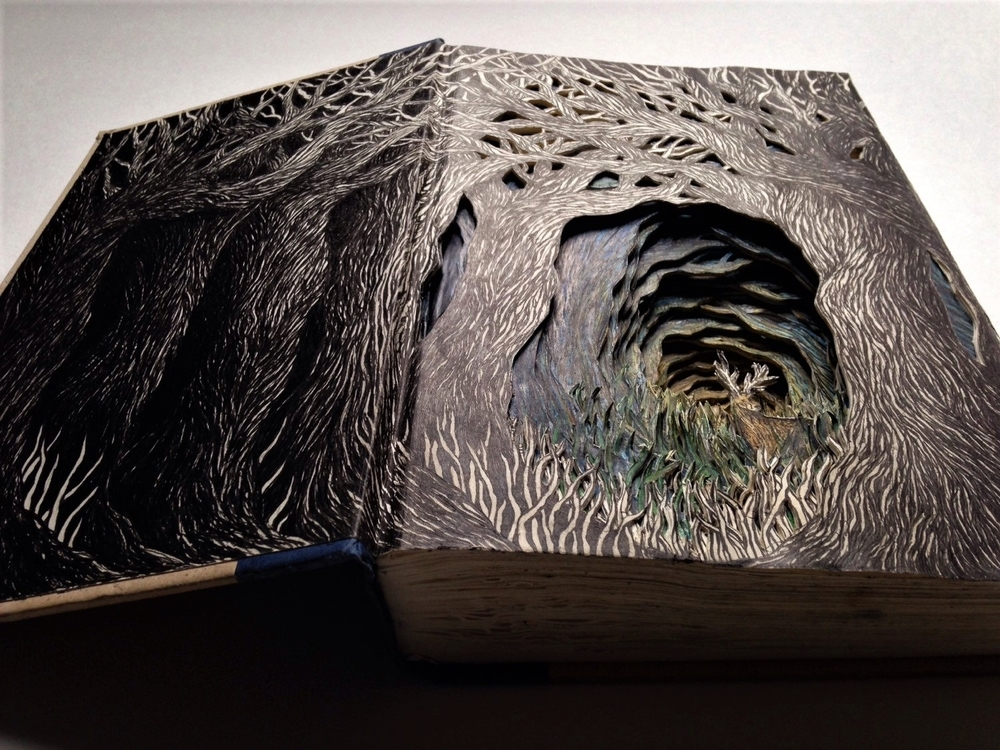 Isobelle Ouzman Creates Amazing Multi-Layered Compositions Cut Of Old Books, фото № 12