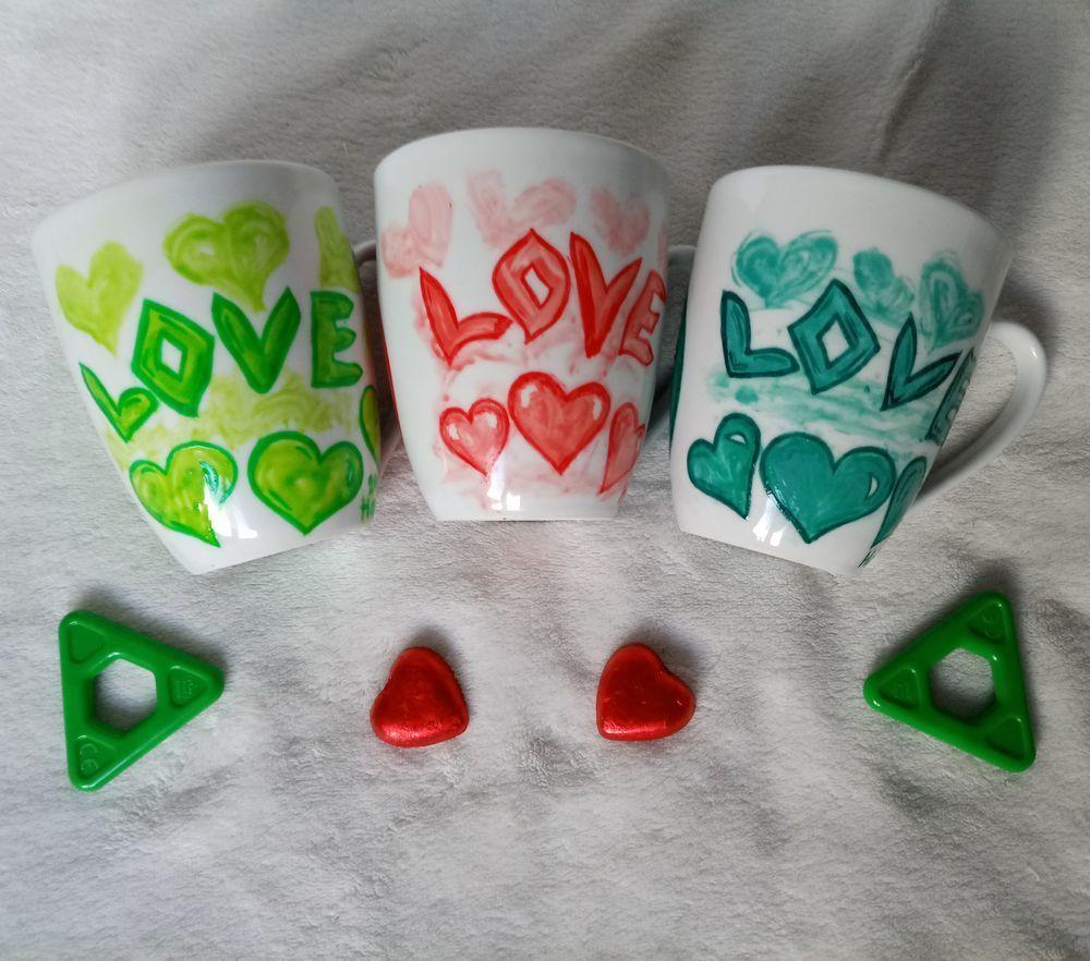 Роспись кружек «Love», фото № 3