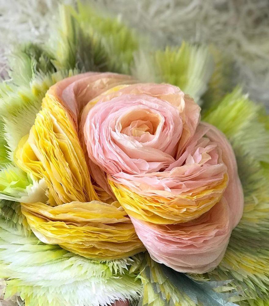 Потрясающие бумажные цветы датской художницы arianne riksen-cott ansen, фото № 32