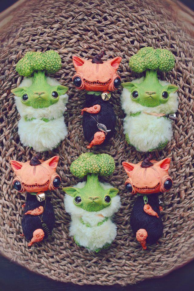 Alien Invasion Of Cuteness: 25+ Unusual Creatures By Anna Nazarenko, фото № 13