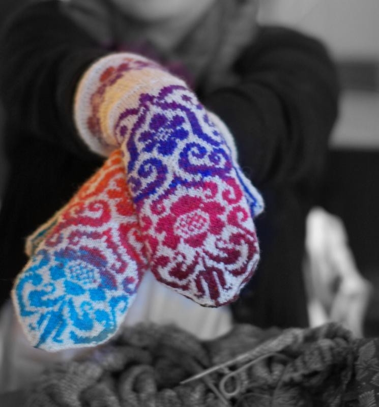 К зиме готовы! 50 идей вещей для вязания спицами, фото № 27