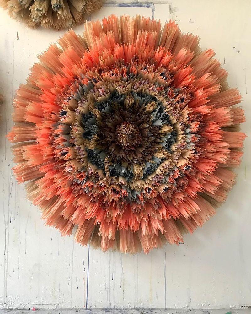 Потрясающие бумажные цветы датской художницы arianne riksen-cott ansen, фото № 44