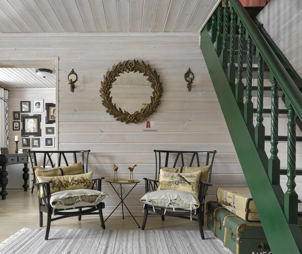Белый цвет в дачном интерьере, фото № 17