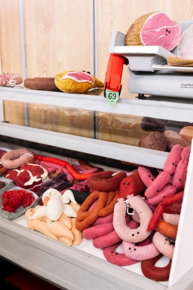 Lucy Sparrow's Supermarket: Felt Products & No GM Foods, фото № 3