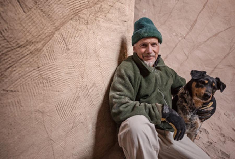Восьмое чудо света: скульптор-отшельник создает невероятные пещеры собственными руками, фото № 27