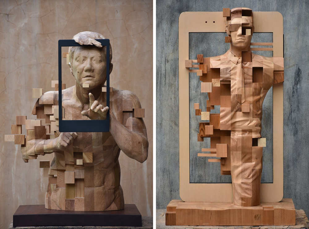 Striking Wooden Sculptures By Hsu Tung Han, фото № 16