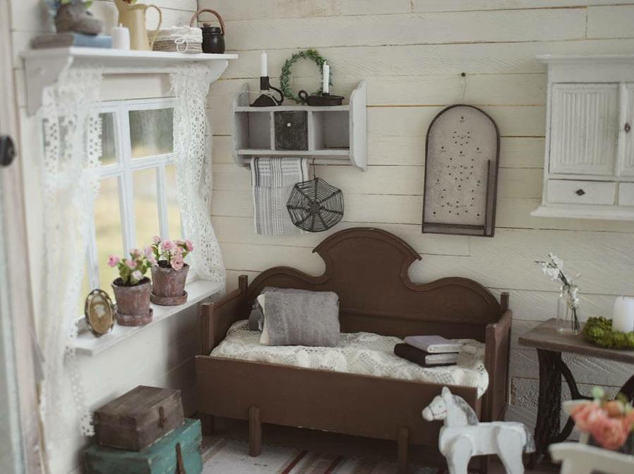 Финская художница создает дома мечты... в миниатюре, фото № 18